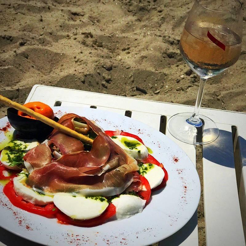 Plage Privée - La Plage - Restaurant Mandelieu La Napoule
