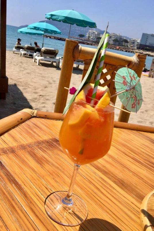 Bar D'été - La Plage - Restaurant Mandelieu La Napoule